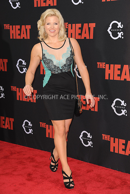WWW.ACEPIXS.COM<br /> June 23, 2013...New York City <br /> <br /> Megan Hilty attending 'The Heat' New York Premiere at the Ziegfeld Theatre on June 23, 2013 in New York City.<br /> <br /> Please byline: Kristin Callahan... ACE<br /> Ace Pictures, Inc: ..tel: (212) 243 8787 or (646) 769 0430..e-mail: info@acepixs.com..web: http://www.acepixs.com
