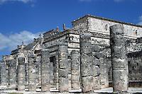 Zona arqueologica de Chichen Itza Zona arqueol&oacute;gica  <br /> Chich&eacute;n Itz&aacute;Chich&eacute;n Itz&aacute; maya: (Chich&eacute;n) Boca del pozo; <br /> de los (Itz&aacute;) brujos de agua. <br /> Es uno de los principales sitios arqueol&oacute;gicos de la <br /> pen&iacute;nsula de Yucat&aacute;n, en M&eacute;xico, ubicado en el municipio de Tinum.<br /> Photo: &copy;Francisco Morales/DAMMPHOTO.COM/NORTEPHOTO