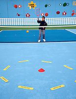 31-03-10, Amersfoort, tenniskids, Volley