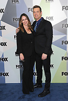 NEW YORK, NY - MAY 14: Jennifer Love Hewitt and Peter Krause at the 2018 Fox Network Upfront at Wollman Rink, Central Park on May 14, 2018 in New York City.  <br /> CAP/MPI/PAL<br /> &copy;PAL/MPI/Capital Pictures