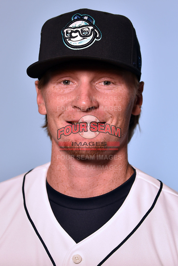 Asheville Tourists pitcher Sam Howard (32) on April 7, 2015 in Asheville, North Carolina. (Tony Farlow/Four Seam Images)