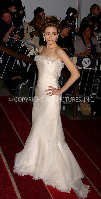 """WWW.ACEPIXS.COM . . . . .  ....NEW YORK, MAY 1, 2006....Emmy Rossum at the """"AngloMania"""" Costume Institute Gala at The Metropolitan Museum of Art.....Please byline: AJ Sokalner - ACEPIXS.COM.... *** ***..Ace Pictures, Inc:  ..(212) 243-8787 or (646) 769 0430..e-mail: picturedesk@acepixs.com..web: http://www.acepixs.com"""