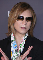 LOS ANGELES - NOVEMBER 4:  Yoshiki at the 2017 LACMA Art + Film Gala at LACMA on November 4, 2017 in Los Angeles, California. (Photo by Scott Kirkland/PictureGroup)