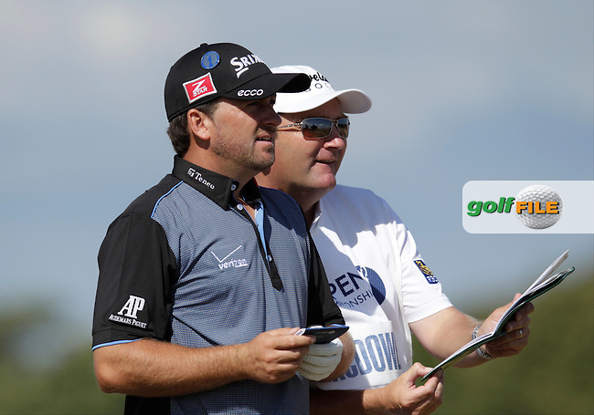 Graeme MCDOWELL (NIR) during round one of  The 142th Open Championship Muirfield, Gullane, East Lothian, Scotland 18/7/2013<br /> Picture Eoin Clarke www.golffile.ie: