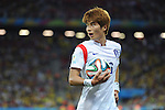 Ki Sung-Yueng (KOR),<br /> JUNE 26, 2014 - Football / Soccer :<br /> FIFA World Cup Brazil 2014 Group H match between South Korea 0-1 Belgium at Arena de Sao Paulo in Sao Paulo, Brazil. (Photo by SONG Seak-In/AFLO)