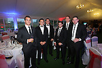 Cardiff Blues - British Lions dinner at Cottrell Park.<br /> Sam Warburton, Ellis Jenkins, Gethin Jenkins, Leigh Halfpenny, Bradley Davies &amp; Alex Cuthbert.<br /> 12.09.13<br /> <br /> &copy;Steve Pope-SPORTINGWALES