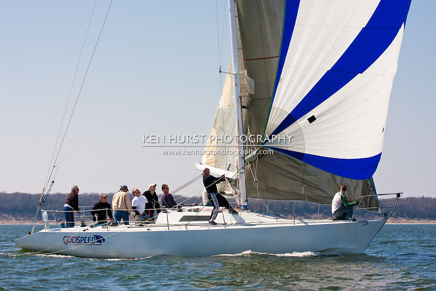 Texoma Sailing Club Icebreaker 1, first sailboat race of 2011.