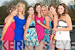 Pictured at the Nurses Ball in the Carlton Hotel, Tralee on Thursday evening, from left: Elaine Donovan, Kerie Beckett, Ursula Wallace, Siobhan OGrady, Clodagh Stack, Christina Mullane and Elaine Murphy..