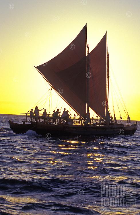 Hawaii Loa authentix Hawaiian sailing vessel