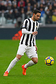 5th November 2017, Allianz Stadium, Turin, Italy; Serie A football, Juventus versus Benevento; Mattia De Sciglio on the ball