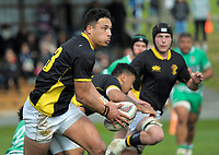 Billy Proctor in action during the Jock Hobbs Memorial Under-19 Tournament rugby match between Wellington and Manawatu at Owen Delany Park in Taupo, New Zealand on Saturday, 16 September 2012. Photo: Dave Lintott / lintottphoto.co.nz