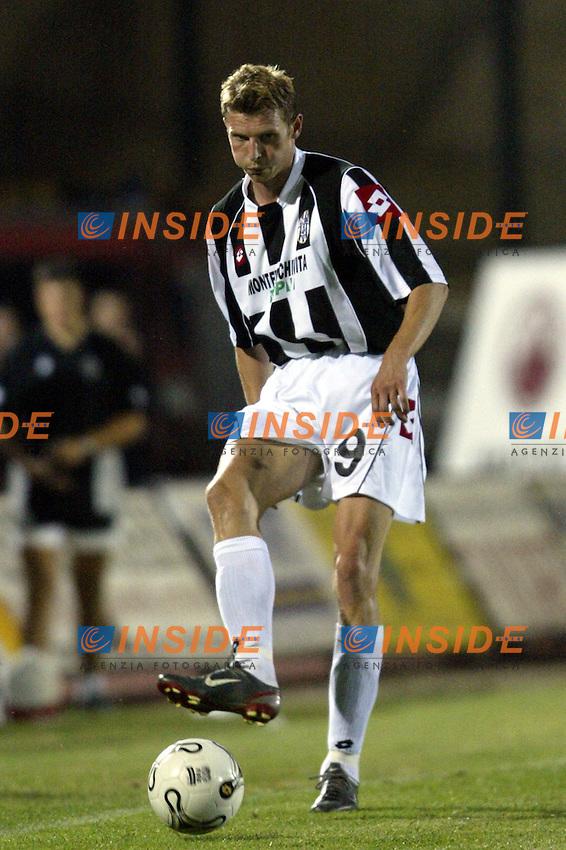 Siena 20/9/2003 Siena Empoli 4-0 <br /> Tore Andre Flo