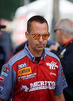 May 15, 2016; Commerce, GA, USA; NHRA pro mod driver Doug Winters during the Southern Nationals at Atlanta Dragway. Mandatory Credit: Mark J. Rebilas-USA TODAY Sports