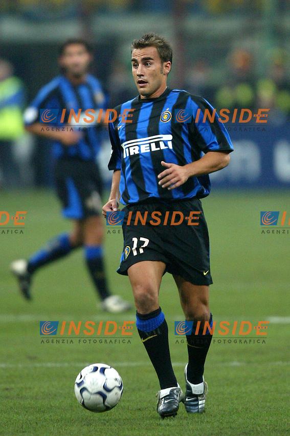 Milano 30/09/2003 <br /> Champions League <br /> Inter Dynamo Kyiv 2-1 <br /> Fabio Cannavaro (Inter)<br /> Foto Andrea Staccioli Insidefoto
