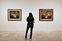 Juan Gris paintings in the Reina Sofia museum, Madrid, Spain