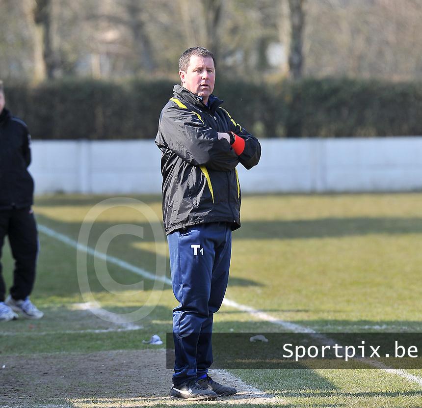 SVD Kortemark : Kortemark Kampioen ; trainer Chris Delheye.foto VDB / BART VANDENBROUCKE