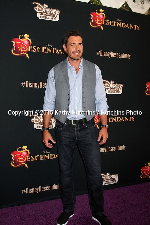 "LOS ANGELES - JUL 24:  Dan Payne at the ""Descendants"" Premiere Screening at the Walt Disney Studios on July 24, 2015 in Burbank, CA"