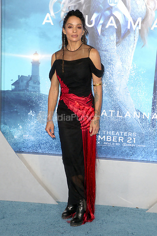LOS ANGELES, CA - DECEMBER 12: Lisa Bonet at the world premiere of Aquaman at The TCL Chinese Theater in Los Angeles, California on December 12, 2018. Credit: Faye Sadou/MediaPunch