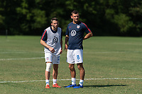 Rome, GA - Friday, June 21, 2019:  Joshua Brunais, Andrew Bremer during a Para 7 USMNT training session.