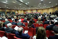 Una veduta della cerimonia di inaugurazione dell'Anno Giudiziario presso la Corte d'Appello di Roma, 30 gennaio 2010..A view of the inauguration ceremony of the Judicial Year at Rome's Court of Appeal, 30 january 2010..UPDATE IMAGES PRESS/Riccardo De Luca
