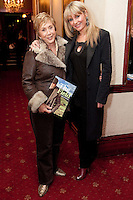 "NO REPRO FEE. 17/1/2010. The Field opening night. Ann Williams and Tara Sinnott are pictured at the Olympia Theatre for the opening night of John B Keanes 'The Field"" Picture James Horan/Collins"