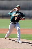 Brett Hunter - Oakland Athletics - 2009 spring training.Photo by:  Bill Mitchell/Four Seam Images