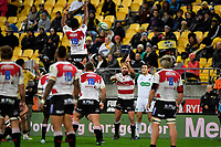 Lions' Malcolm Marx in action during the Super Rugby - Hurricanes v Lions at Westpac Stadium, Wellington, New Zealand on Saturday 5 May 2018.<br /> Photo by Masanori Udagawa. <br /> www.photowellington.photoshelter.com