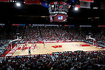 MADISON, WI - OCTOBER 24: A general view of the Kohl Center during the red/white scrimmage on October 24, 2006 in Madison, Wisconsin. The White team defeated the Red team 72-69. (Photo by David Stluka)