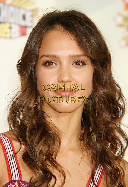 JESSICA ALBA.20th Annual Nickelodeon Kids' Choice Awards held at UCLA's Pauley Pavilion, Westwood, California, USA,.31 March 2007..portrait headshot.CAP/ADM/RE.©Russ Elliot/AdMedia/Capital Pictures.