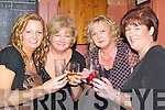 TOASTING: Marie O'Connell, Kathleen O'Connell (Kilflynn), Joanne Regan (Banna) and Anne Loftus (Kilflynn) who toasted in the New Year in the Abbey Tavern, Ardfert.   Copyright Kerry's Eye 2008