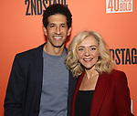 "Benim Foster and Rachel Bay Jones attends the Second Stage Production of ""Days Of Rage"" at Tony Kiser Theater on October 30, 2018 in New York City."