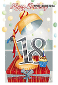 Marcello, CHILDREN BOOKS, BIRTHDAY, GEBURTSTAG, CUMPLEAÑOS, paintings+++++,ITMCEDH1428A,#bi#, EVERYDAY ,age cards