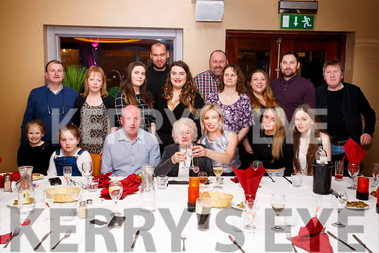 Mary Horgan, Castlegregory, who celebrated her 90th birthday with family at Benners Hotel, Tralee, on Saturday evening last.