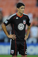 DC United forward Pablo Hernandez (21)    FC Dallas defeated DC United 3-1 at RFK Stadium, Saturday August 14, 2010.