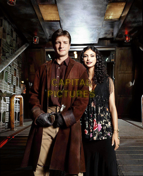 MORENA BACCARIN & NATHAN FILLION.in Firefly.Filmstill - Editorial Use Only.Ref: FB.www.capitalpictures.com.sales@capitalpictures.com.Supplied By Capital Pictures.