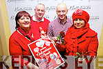 AT THE HEART OF FUNDRAISING: Preparing for a Valentine's Ball in the Golf Hotel on February 15th in aid of funds for Destination Ballybunion were: Isabella O'Mahony, David Walsh (Chairman), Danny Houlihan and Joanne Kelly Walsh.