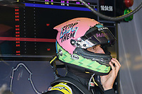 March 15, 2019: Daniel Ricciardo (AUS) #3 from the Renault F1 Team in his garage during practice session two at the 2019 Australian Formula One Grand Prix at Albert Park, Melbourne, Australia. Photo Sydney Low
