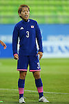 Azusa Iwashimizu (JPN), <br /> SEPTEMBER 18, 2014 - Football / Soccer : <br /> Women's Group Stage <br /> between Japan Women's 12-0 Jordan Women's <br /> at Namdong Asiad Rugby Field <br /> during the 2014 Incheon Asian Games in Incheon, South Korea. <br /> (Photo by YUTAKA/AFLO SPORT)