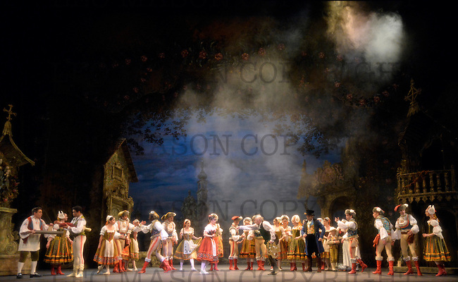 22.07.2014 English National Ballet Company performing Coppelia at The London Coliseum UK