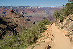Bright Angel Trail near Indian Gardens, Grand Canyon National Park, Arizona . John offers private photo tours in Grand Canyon National Park and throughout Arizona, Utah and Colorado. Year-round.