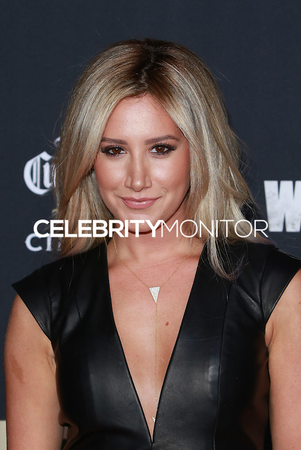 UNIVERSAL CITY, CA, USA - OCTOBER 02: Ashley Tisdale arrives at the Los Angeles Premiere Of AMC's 'The Walking Dead' Season 5 held at AMC Universal City Walk on October 2, 2014 in Universal City, California, United States. (Photo by David Acosta/Celebrity Monitor)