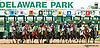 The start of the 2013 Delaware Oaks - Dancing Afleet winning The Delaware Oaks (gr 2) at Delaware Park on 7/13/13