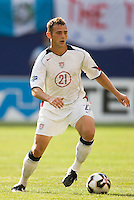 USA's Brad Davis. The United States defeated Panama 3-1 in a shoot out after a scoreless game to win the CONCACAF Gold Cup at Giant's Stadium, East Rutherford, NJ, on July 24, 2005.