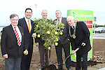 Cllr Jim Lennon, Joe Barrett, Applegreen, Cllr Oliver Tully, Cllr Finnan McCoy and Peter Savage, Chairman of the Louth County Council at the Official Opening of the new Applegreen Service Station on the M1 Southbound at Castlebellingham....Picture Jenny Matthews/Newsfile.ie