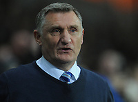 Blackburn Rovers manager Tony Mowbray <br /> <br /> Photographer Kevin Barnes/CameraSport<br /> <br /> The EFL Sky Bet Championship - Blackburn Rovers v Wigan Athletic - Tuesday 12th March 2019 - Ewood Park - Blackburn<br /> <br /> World Copyright © 2019 CameraSport. All rights reserved. 43 Linden Ave. Countesthorpe. Leicester. England. LE8 5PG - Tel: +44 (0) 116 277 4147 - admin@camerasport.com - www.camerasport.com