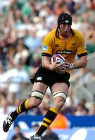 20040904 London Wasps v Saracens. Zurich Premiership..Wasps lock Ben Skivington.Photo  Peter Spurrier.email images@intersport-images Mob +447973819551.