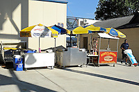 1 October 2011:  The concessions at the southwest corner of the stadium.  The Duke University Blue Devils defeated the FIU Golden Panthers, 31-27, at FIU Stadium in Miami, Florida.