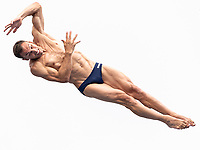 NAVRATIL Michal CZE CZECH REPUBLIC<br /> Gwangju South Korea 24/07/2019<br /> High Diving Men Final<br /> 18th FINA World Aquatics Championships<br /> Chosun University <br /> Photo © Giorgio Scala / Deepbluemedia / Insidefoto