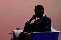 Luigi Di Maio<br /> Roma 09/01/2018. Trasmissione tv Rai 'Porta a Porta'.<br /> Rome January 9th 2018. Talk show 'Porta a Porta'.<br /> Foto Samantha Zucchi Insidefoto