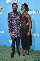 David Oyelowo &amp; Lupita Nyong'o at the world premiere for &quot;Gringo&quot; at the L.A. Live Regal Cinemas, Los Angeles, USA 06 March 2018<br /> Picture: Paul Smith/Featureflash/SilverHub 0208 004 5359 sales@silverhubmedia.com